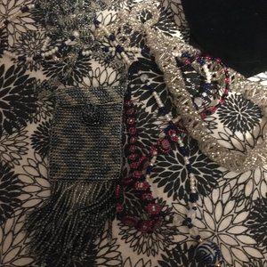 Jewelry - Seed Bead Necklace & Bracelet Bundle (2) - 250